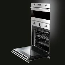 stove 24 inch electric. smeg classic 24-inch built-in electric single wall oven interior - sf399xu stove 24 inch e