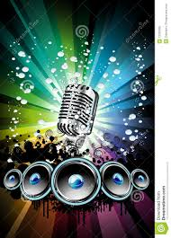 Free Flyers Backgrounds Background For Disco Event Flyer Stock Illustration