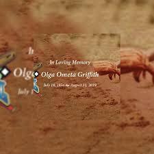 Olga Griffith Obituary - Van Nuys, CA | Angeleno Mortuary