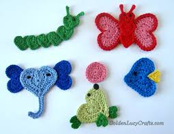 Free Crochet Applique Patterns Simple Ideas