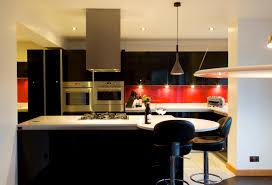 Red Kitchen Cupboard Doors Kitchen Kitchen Modern Kitchen Black And Red Color Scheme