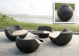 outdoor modern furniture astonishing design black wicker chairs