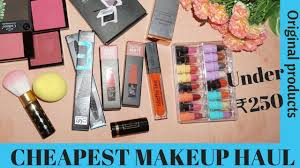 makeup s in india under rs 250 jaipur haul affordable and good quality week of videos 5