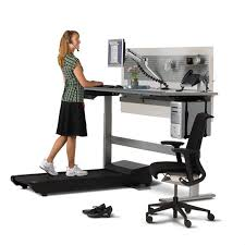 four reasons to try a treadmill desk