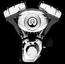 factory fat harley davidson v twin motor history