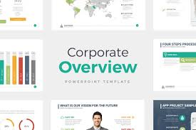 Company Overview Templates Corporate Overview The Best Powerpoint Template