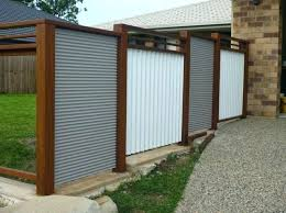 corrugated metal privacy fence. Modren Metal Corrugated Metal Fence Cost Decoration Iron Panels  With Ripple A   Throughout Corrugated Metal Privacy Fence I