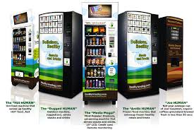 Human Vending Machine New The Only Thing That Was Could Slow Down The Healthy Green Food
