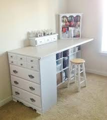 furniture makeover ideas. Extended Chest-To-Desk Corner Counter Furniture Makeover Ideas