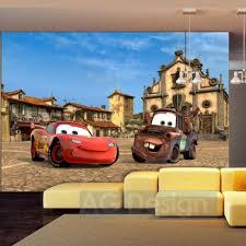 Lightning Mcqueen Bedroom Accessories Disney Cars Lightning Mcqueen Martin In Italy Wallpaper Xxl