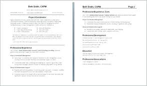 How To Write A One Page Resume One Page Resume Or Two How To