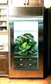 glass refrigerator for home gorgeous glass front refrigerator residential with glass door home sub zero residential