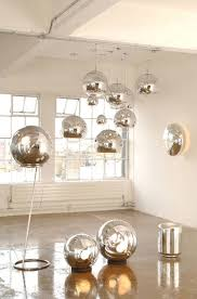 replica tom dixon mirror ball gold pendant lamp d15