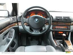2000 BMW 5 Series 540i Sedan Gray Dashboard Photo #73592063 ...