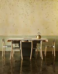 concrete chic the line hotel in la s koreatown remodelista love these emeco wood and metal chairs table is cool too storage for dishware