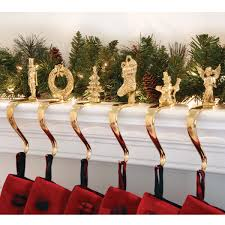 Perfect Ideas Christmas Stocking Holders For Fireplace Mantel