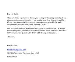 Thank You Letter For Internship Internship Pro Tip Thank You Note