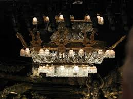 phantom of the opera london the chandelier during the break