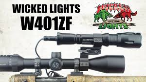 Best Coyote Hunting Light Wicked Hunting Lights W401zf Zoom Focus Night Hunting Light
