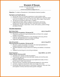 Retail Clerk Resume Resume Template Administrative Assistant