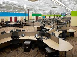 modern open plan interior office space. The Number Of Private Offices Has Decreased To Just 32% Since 1997 Modern Open Plan Interior Office Space