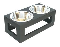 dog bowl stand wood plans wrought iron dog bowl stands uk outdoor porchside raised double diner