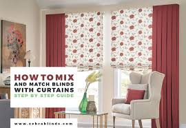 Dining Room Blinds Stunning Curtains With Blinds Ways To Mix And Match ZebraBlinds