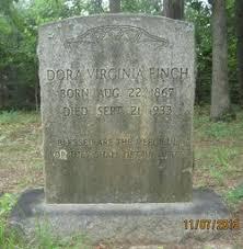 """Eudora Virginia """"Dora"""" Finch (1867-1933) - Find A Grave Memorial"""