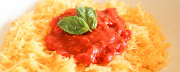 Image result for Vegan Spaghetti Squash and Marinara