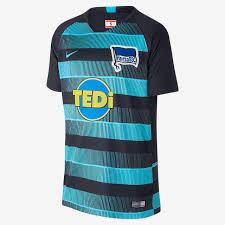 2018 19 Hertha Bsc Stadium Away Older Kids Football Shirt