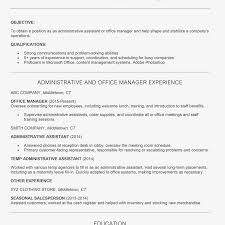 Resume Job Objective Examples Resumective For Part Time Job College Student General