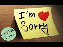 40 Seconds Whatsapp Sorry Status YouTube Impressive Sorry