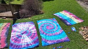 DIY Tie-Dye Tapestries by Girl Scout Troop 3013