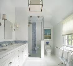 dutch tile blue bathroom transitional with white floor resistant backsplash wall tiles