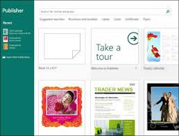 Ms Publisher Lesson Plans Basic Tasks In Publisher Publisher