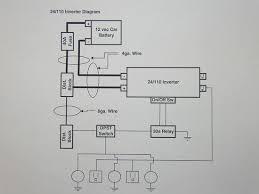 inverter wiring diagram saturnfans photo forums Wiring Diagram For Inverter inverter wiring diagram wiring diagram for converter charger