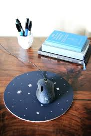 diy mouse mat constellation mouse pad diy mouse pad wrist rest