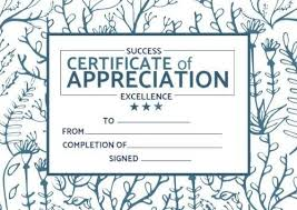 Certificate Outline Edit This Stunning Leaves Outline Certificate Of
