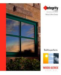 Marvin Integrity Window Size Chart Integrity Wood Ultrex Catalog Integrity Pdf Catalogs