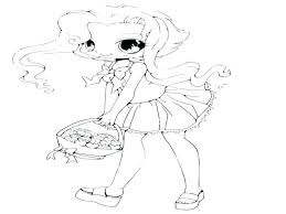 Anime Coloring Pages Printable Cute Anime Coloring Pages Printable