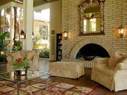 Interior:Mediterranean Style Living Room Interior Design Book Wall Shelves  And White Fireplace Simple Mediterranean