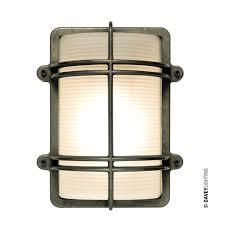 Chrome Bulkhead Light Rectangular Bulkhead Light Fitting By Davey Lighting