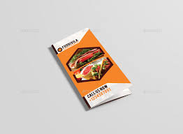 Food Brochure. Preview Image Setpreview Jpg Foodivila Tri Fold Food ...
