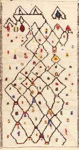 colorful vintage moroccan berber rug 48953 nazmiyal