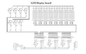 dot matrix led running display v2 0 electronics lab schematic 2