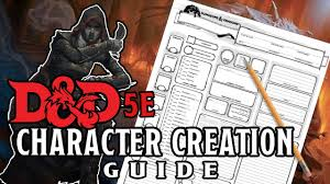 D D 5e Character Creation Guide