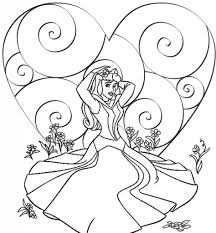Small Picture Coloring Pages Disney Princesses Coloring Pages Printable Best