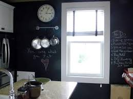how to paint a kitchen chalkboard wall