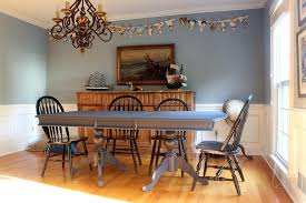 Our Newly Hale Navy Dining Room Table And The Finish Max Pro Paint New Paint Dining Room Table Property