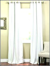 curtains inches inch white long blackout large size of gallant sheer 54